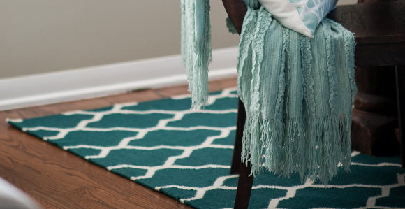 HomeGoods Blue Rug