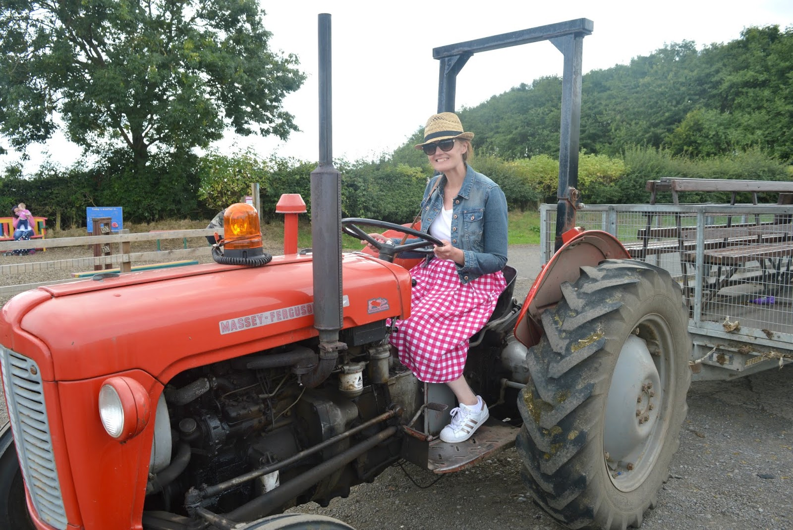 A Family Day Trip to Whitehouse Farm, Northumberland