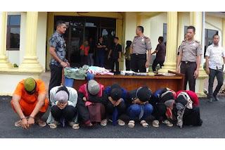Polisi Amankan 6 Pelajar Aceh Tamiang yang Menjadi Mucikari dan Pelacur
