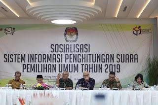 Sosialisasi Situng KPU Republik Indonesia