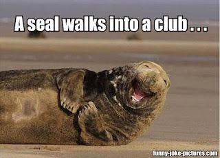 So a seal walks into a club...