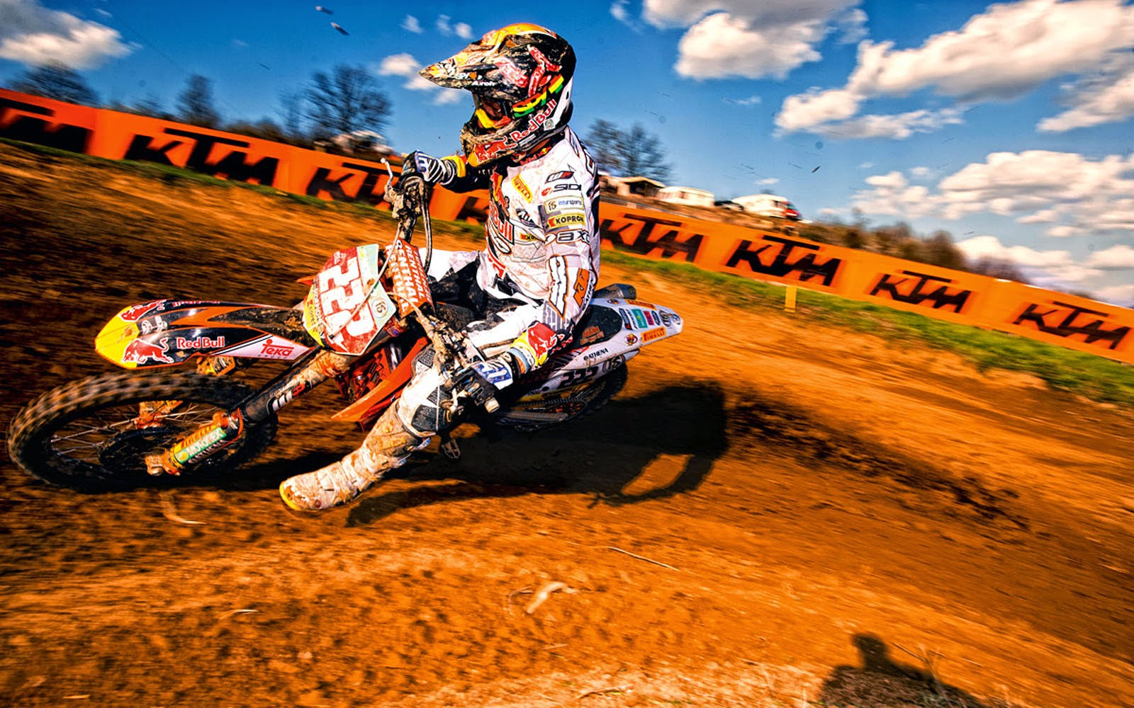 Wallpapers: KTM 350 SX-F Wallpapers