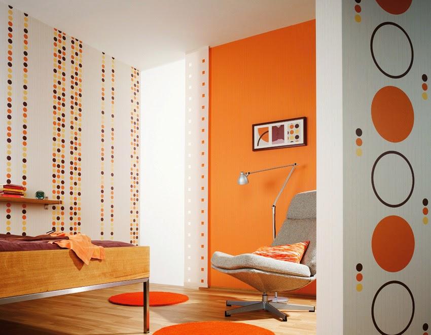 Tips Mempercantik Kamar Tidur Dengan Warna Orange   Rumah ...