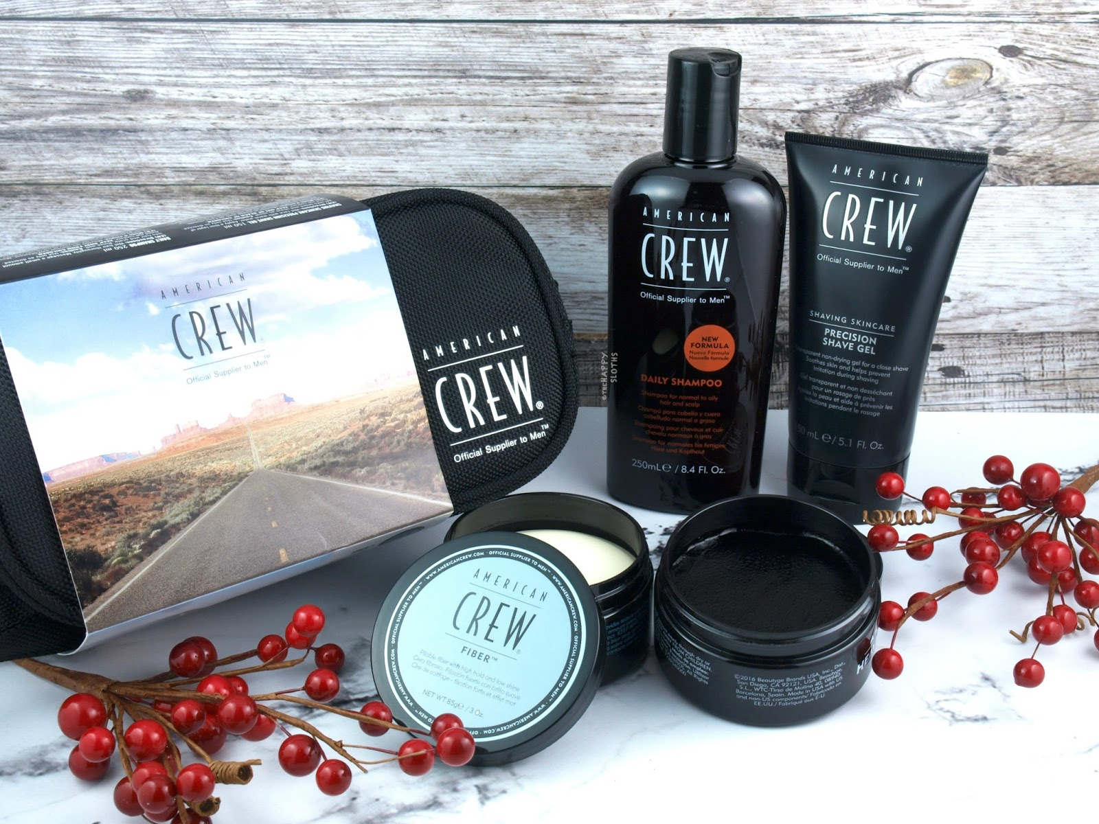 Holiday Gift for Men | American Crew Travel Pack: Review + GIVEAWAY