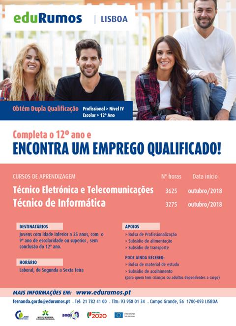 Cursos de aprendizagem em Lisboa