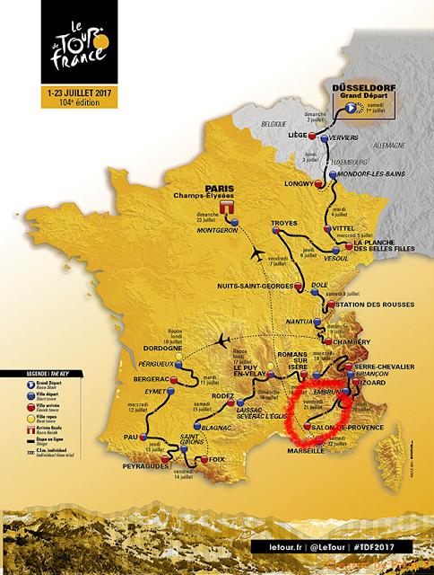 Title what title 104 tour de france etappe 19 for Embrun salon de provence tour de france 2017