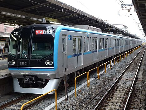 【運用消滅!】メトロ東西線15000系の快速 西船橋行き