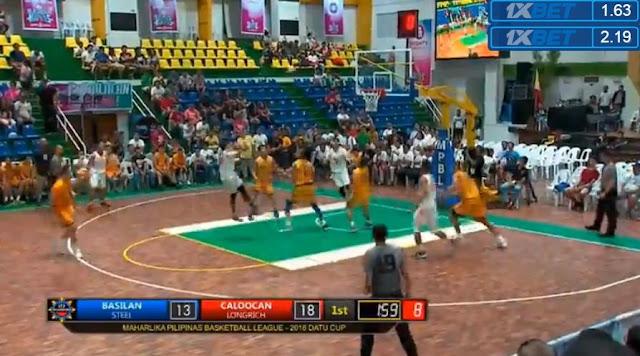 Livestream List: Basilan vs Caloocan August 28, 2018 MPBL Anta Datu Cup