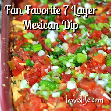 Awesome party dips are always in demand, and this Fan Favorite 7 Layer Mexican Dip is a proven winner! The ingredients are easy to find; most of them are pantry or fridge staples. With just a bit of effort, making this dip will put you on everybody's guest list.