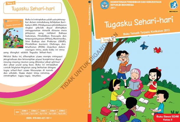 Buku Kelas 2 Kurikulum 2013 Revisi Tahun 2017