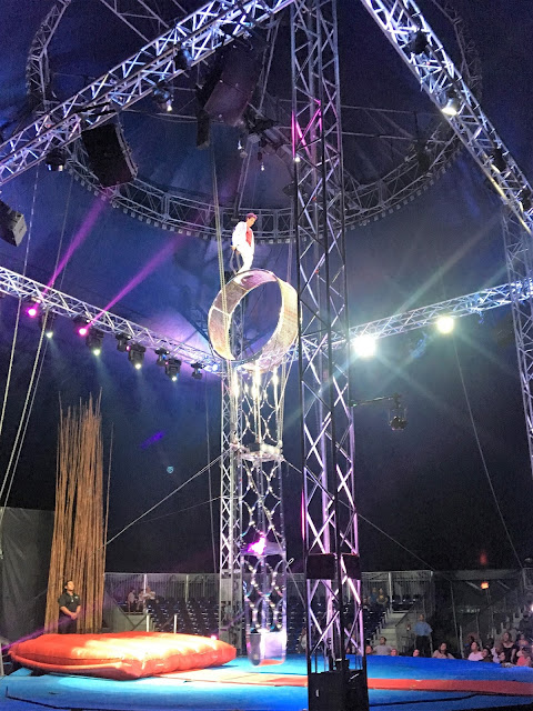 Cirque Italia Danger Wheel