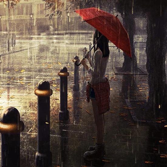 Paris Rainy Wallpaper Engine
