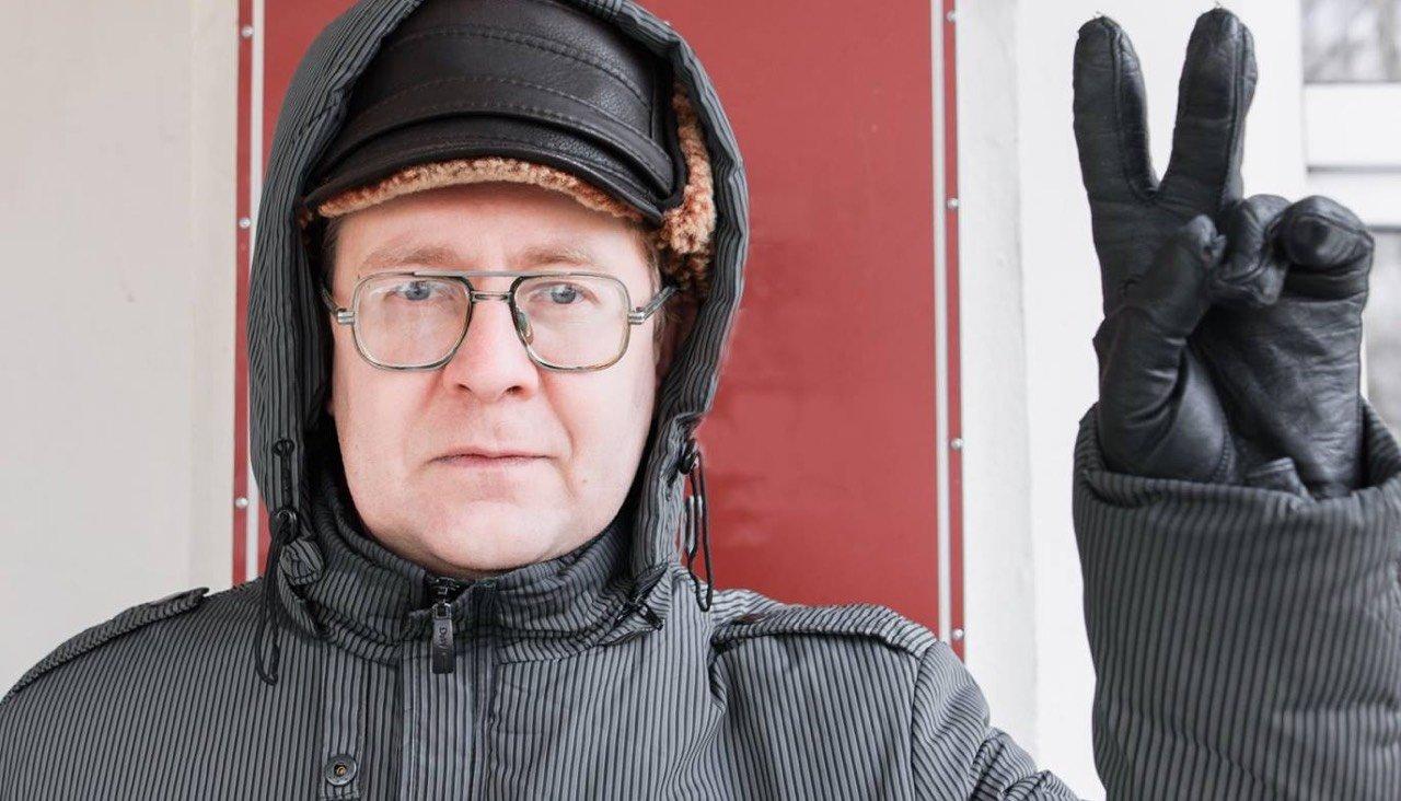 Российского поэта Александра Бывшева преследуют за симпатии к Украине