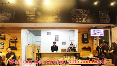 Waroeng Idea, Rooftop Cafe And Resto di Ideas Hotel Bandung