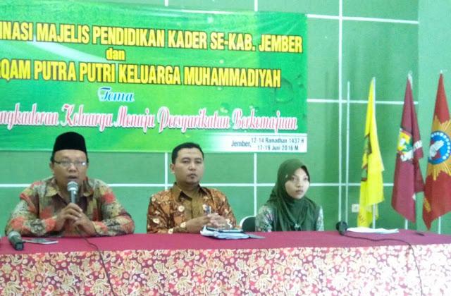 Perkaderan Baitul Arqam putra putri keluarga Muhammadiyah usia SMP-SMA