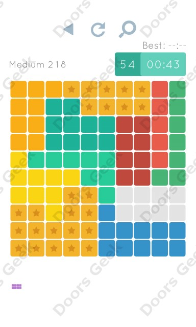Cheats, Walkthrough for Blocks and Shapes Medium Level 218