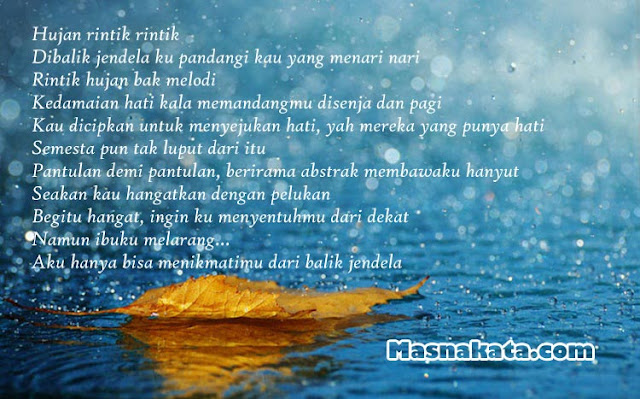 Kumpulan Puisi Tentang Hujan