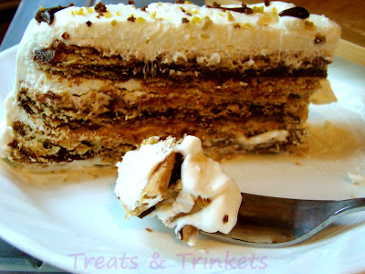 Smores Icebox Cake Twisted