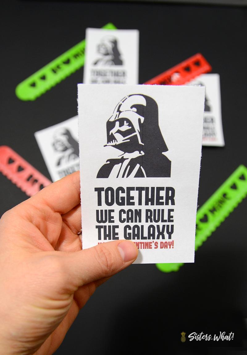 Darth Vader Valentine Printable
