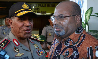 Gubernur Minta Kapolda Ditarik, Polda Papua : Sangat Subjektif, tidak Mendasar