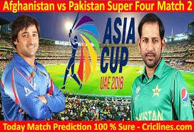 Afg vs Pak Asia Cup 2018 live cricket