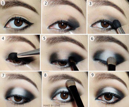 Maquillaje paso a paso para deslumbrar trucos de belleza for Como se maquillan los ojos ahumados