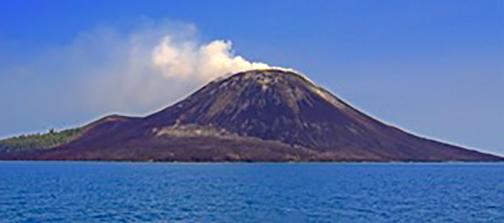 Gambar Anak Krakatau Di Lampung