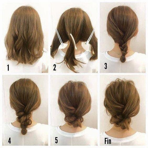 9 Cara Mengikat Rambut Pendek Simple Mudah Dan Terbaru Beserta Step Langkah Gambar Tips Cara Dan Tutorial