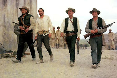 The Wild Bunch (1969), Directed by Sam Peckinpah, starring William Holden