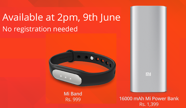 Xiaomi Mi Band, 16000mAh Power Bank