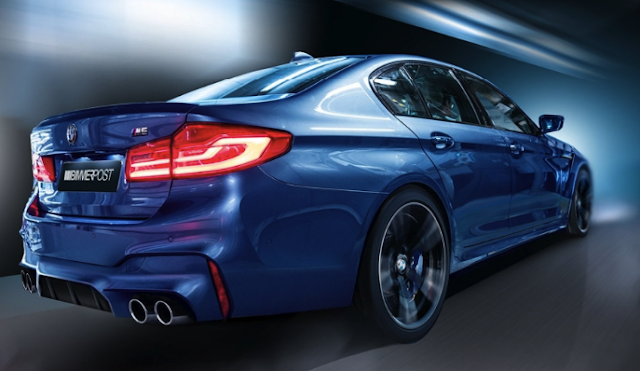 New BMW F90 M5: rear wheel instead of all wheel drive at the push of a button