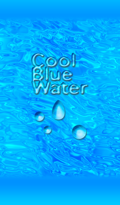 Cool Blue Water