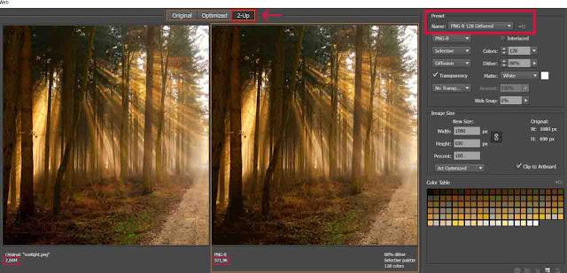 Cara Mengurangi Ukuran Gambar Tanpa Mengurangi Kualitas Dengan Adobe Illustrator