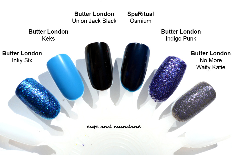Cute And Mundane Butter London Rock Your Colour Collection Nail