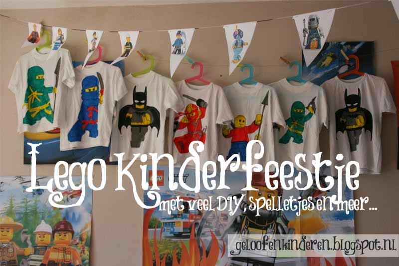 Top Kopje Thee(a): Lego kinderfeestje &CA52