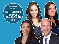 THE RISING STARS OF HEADHUNTING EVERYONE ON WALL STREET SHOULD GET TO KNOW
