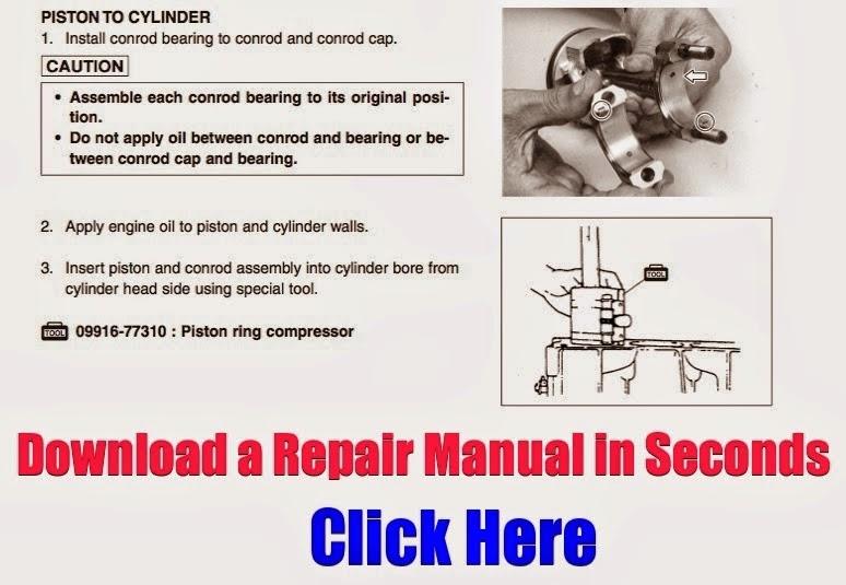 Honda TRX450 Foreman Repair Manual 1998-2004