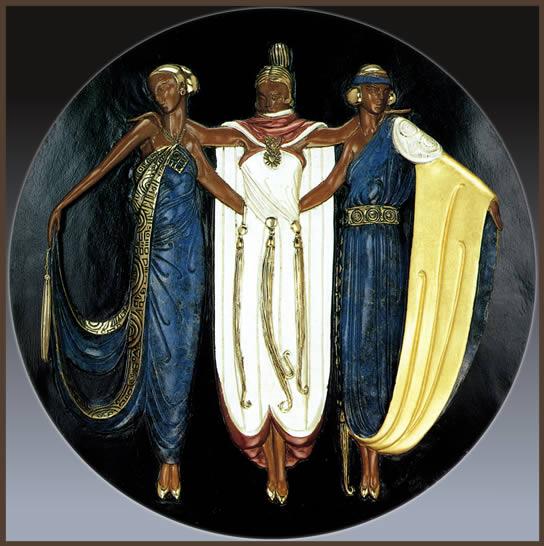 Romain de Tirtoff 1892-1990 | Fashion and Art Déco painter