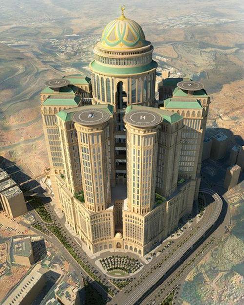 Hotel Terbesar Di Dunia Ternyata Ada Di Mekah