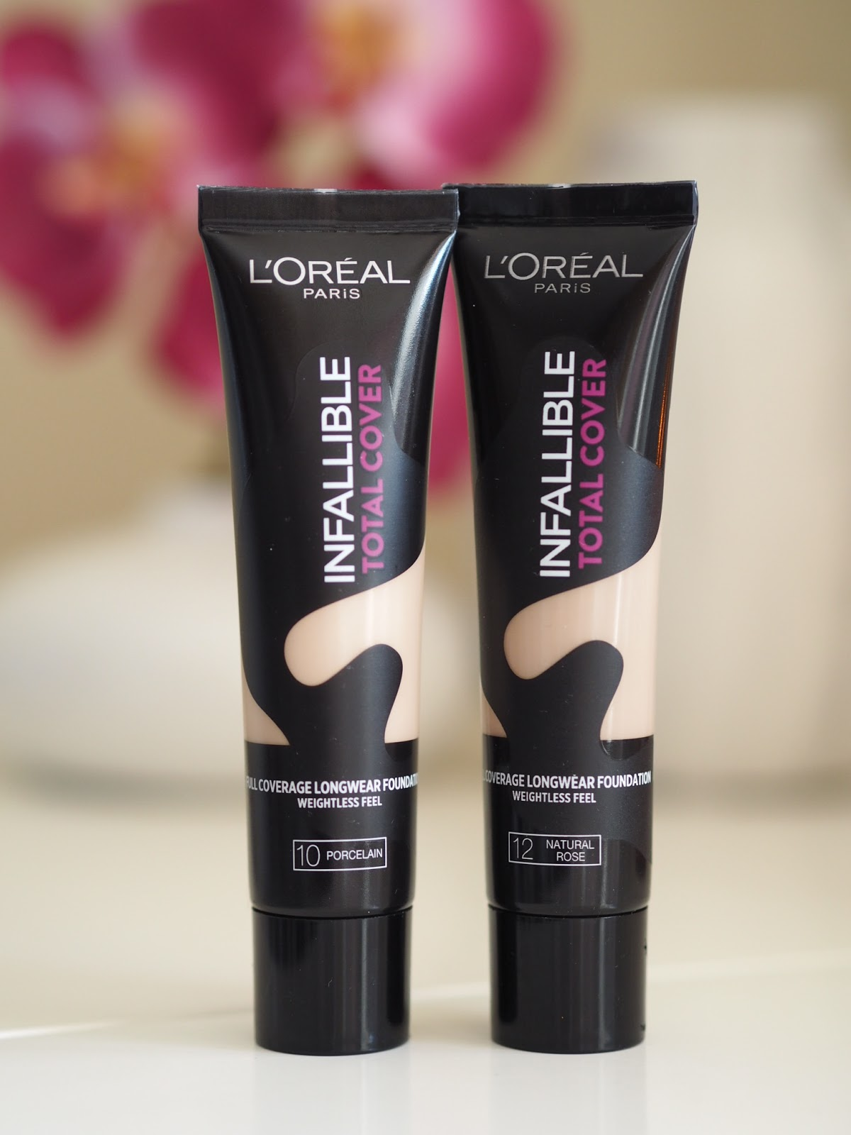 l u0026 39 oreal infallible total cover foundation