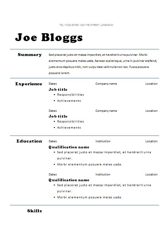 is it wise to use professional resume templates to write your own - How To Write Your Own Resume