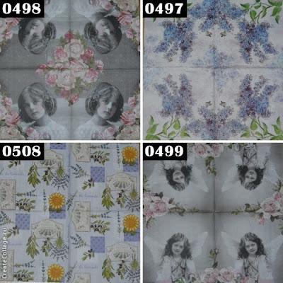 Helen Fir-tree napkins for decoupage салфетки для декупажа