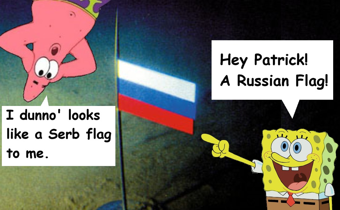 1cc0363d1 The Voice of Vexillology, Flags & Heraldry: SpongeBob Square Pants ...