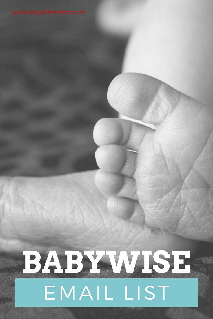 Babywise email list