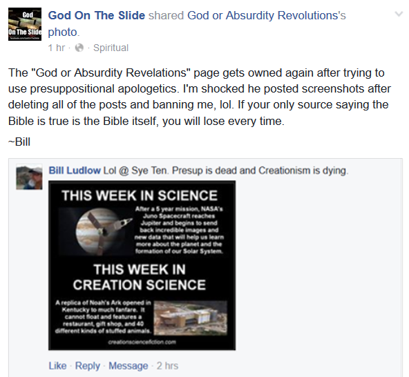 the absurdity of scientific creationism essay