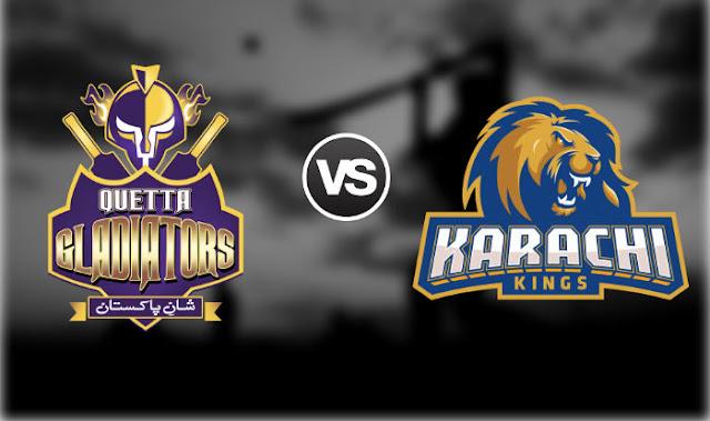 Karachi Kings vs Quetta Gladiators 19th T20 Predictions and Betting Tips