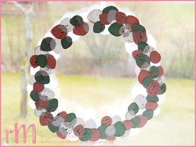 Stampin' Up! rosa Mädchen Kulmbach: Stamp Impressions Blog Hop: 99 Luftballons Osterkranz mit der Luftballonstanz und Gorgeous Grunge
