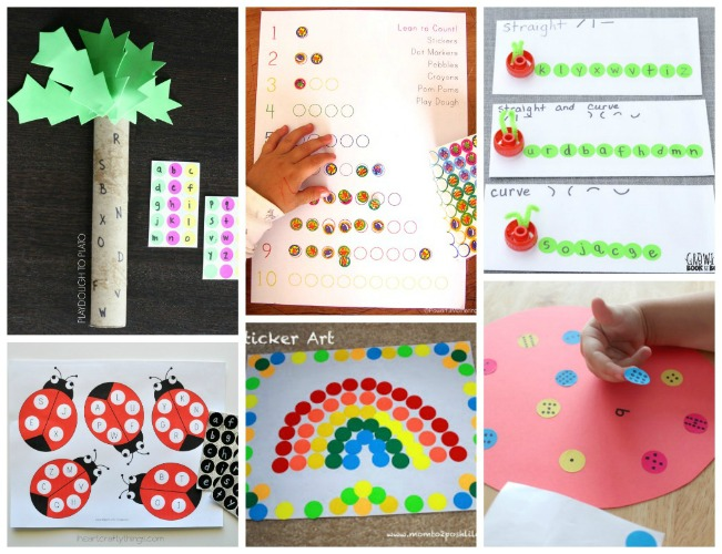 fun things to do with dot stickers