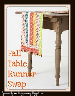 Table Runner Swap Badge
