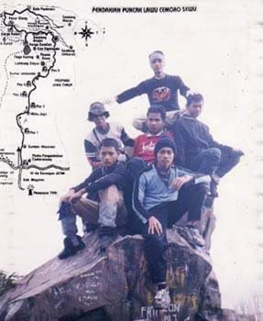 Pendakian perdana gunung lawu